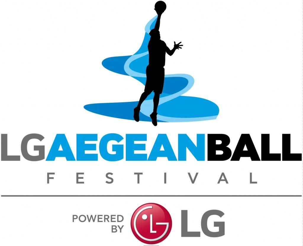 LG Αegean Ball Festival logo