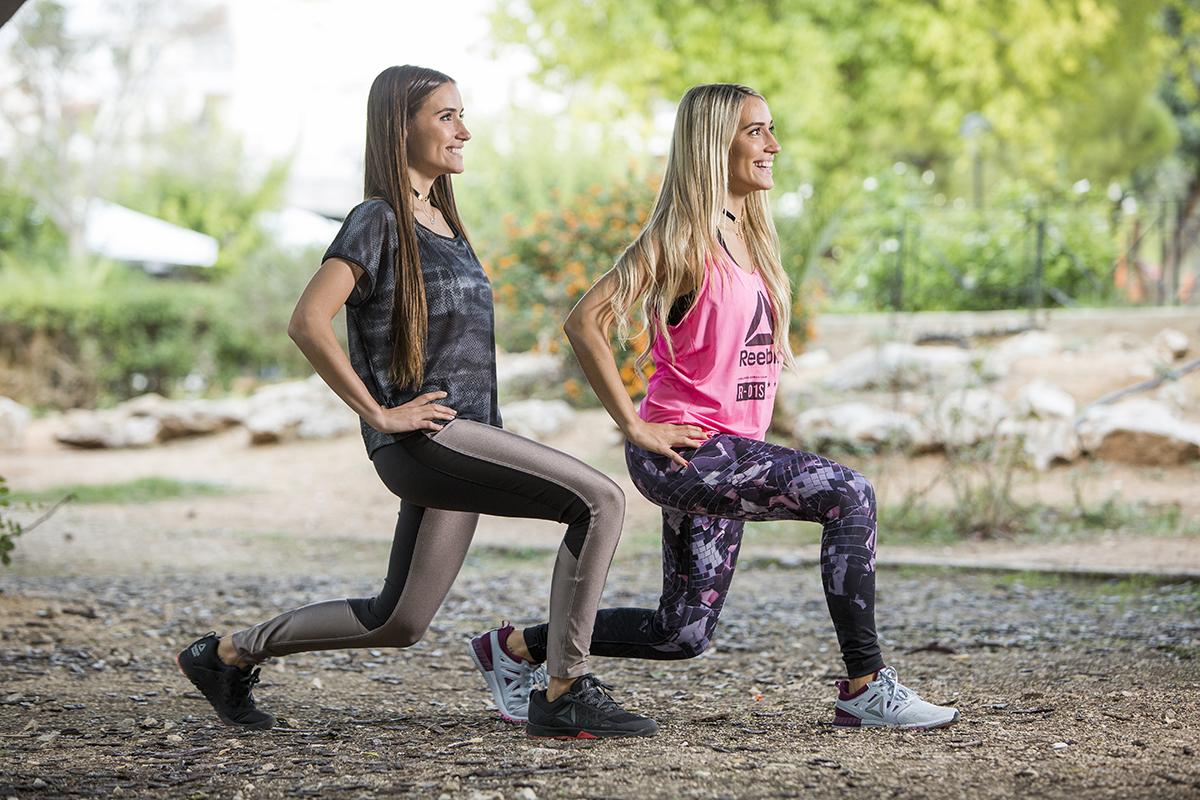 Οι Twins Fit επιλέγουν Reebok outfits για τις προπονήσεις τους!
