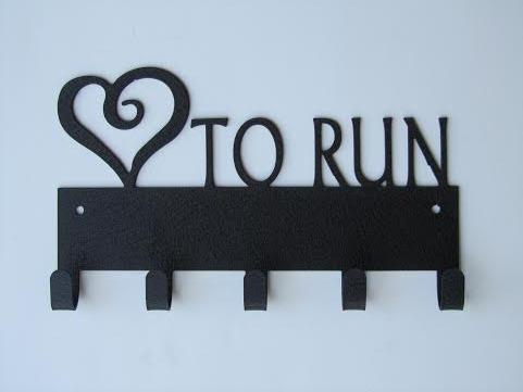 Κρεμάστρα Love to Run
