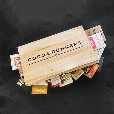 Κουτί με σοκολάτες πλούσιες σε κακάο
